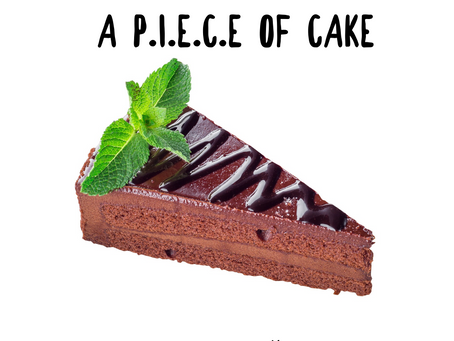 Mindful Eating is a P.I.E.C.E of Cake
