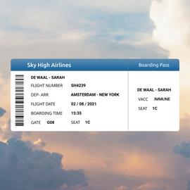 #DailyUI 0024 Boarding Pass
