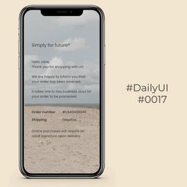 #DailyUI #0017