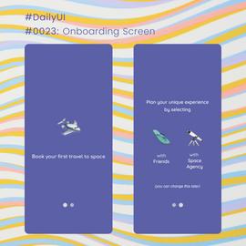 #DailyUI #0023 Onboarding