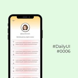 #DailyUI #0006