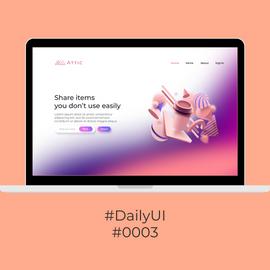 #DailyUI #0003
