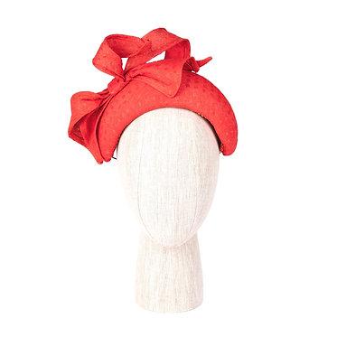 Orange Straw Headband