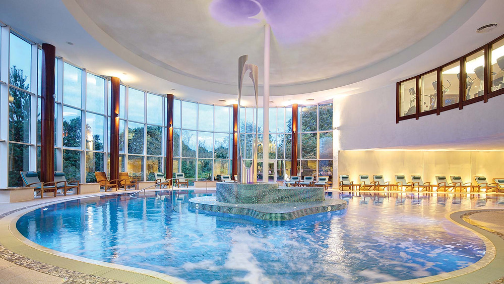 The 20-metre pool that is part of Seaham Hall's Serenity Spa