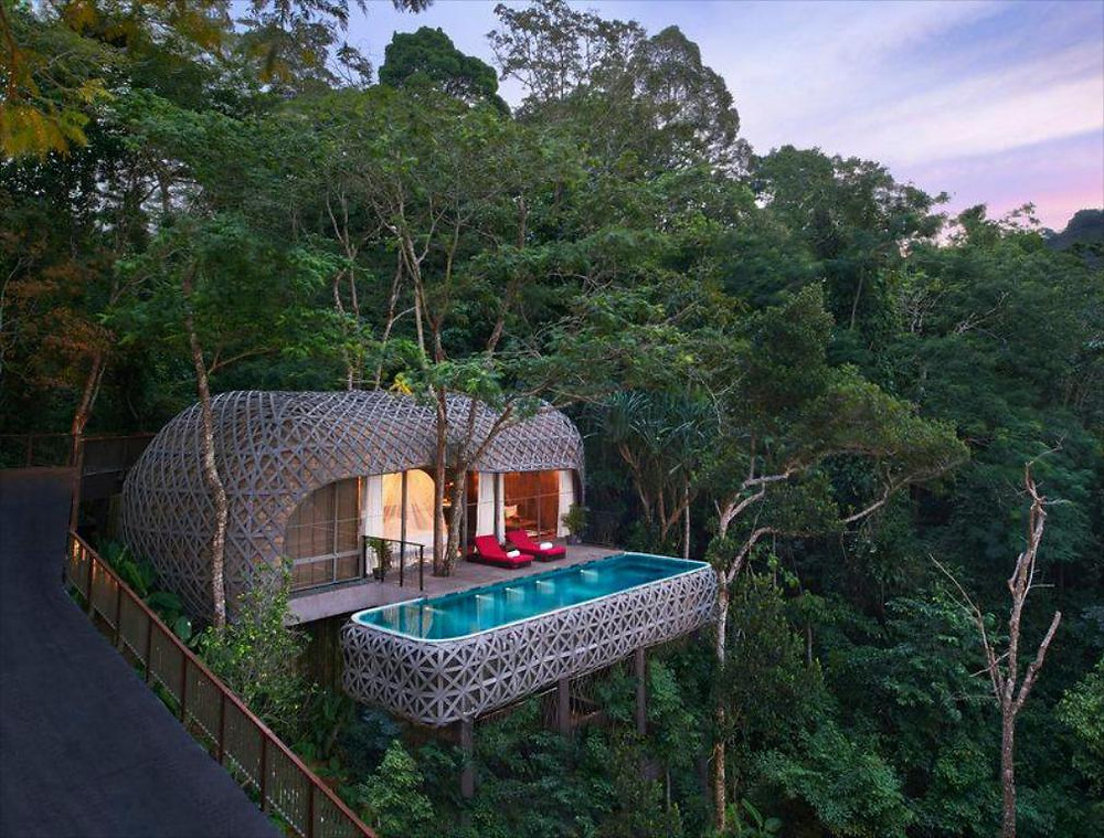 Keemala Resort's standout feature is its treehouse accommodation