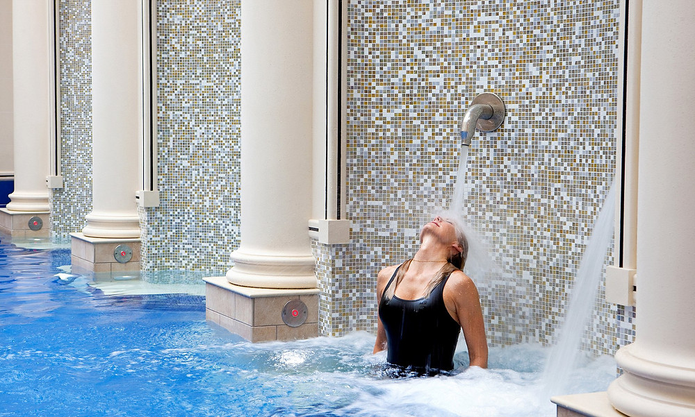 The Gainsborough Bath Spa uses the same thermal waters from the ancient Roman spring