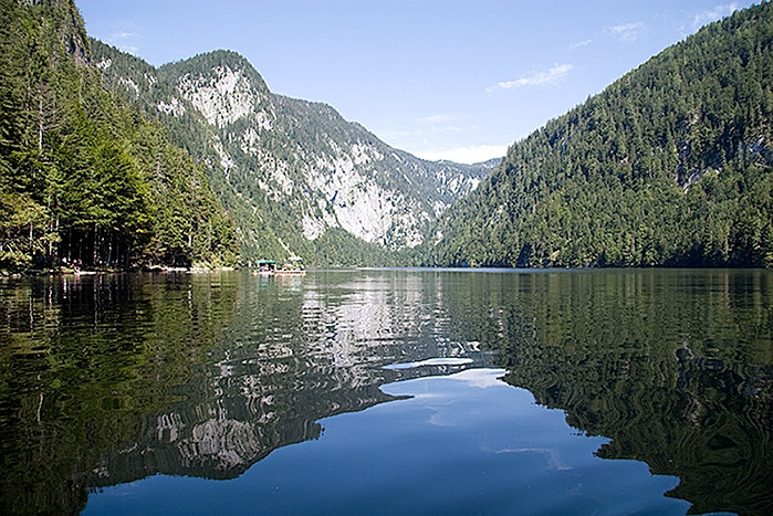 Lake Toplitz - could be the resting place of sunken Nazi treasure