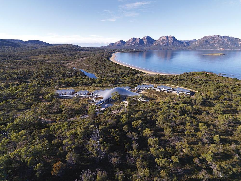 Luxury Lodges of Australia member, Saffire Freycinet is the most luxurious Tassie hotel