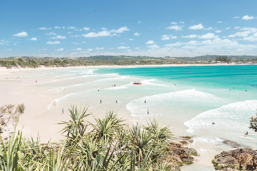 British singer, Joss Stone, fell in love with Byron Bay's beaches