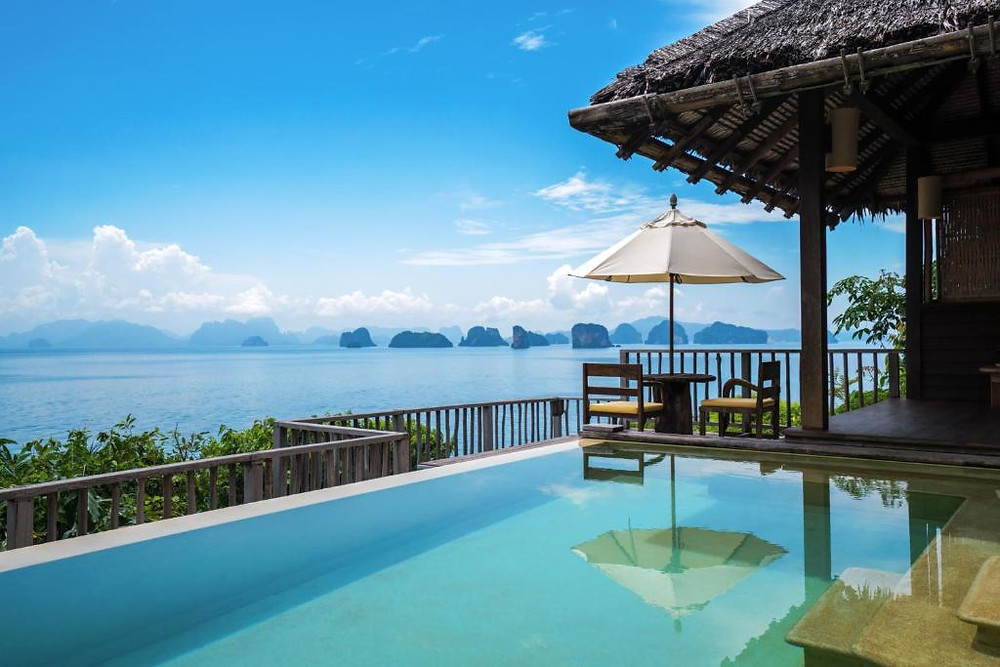 Phuket's luxurious Six Senses Yao Noi resort boasts jaw-dropping views over Phang Nga Bay