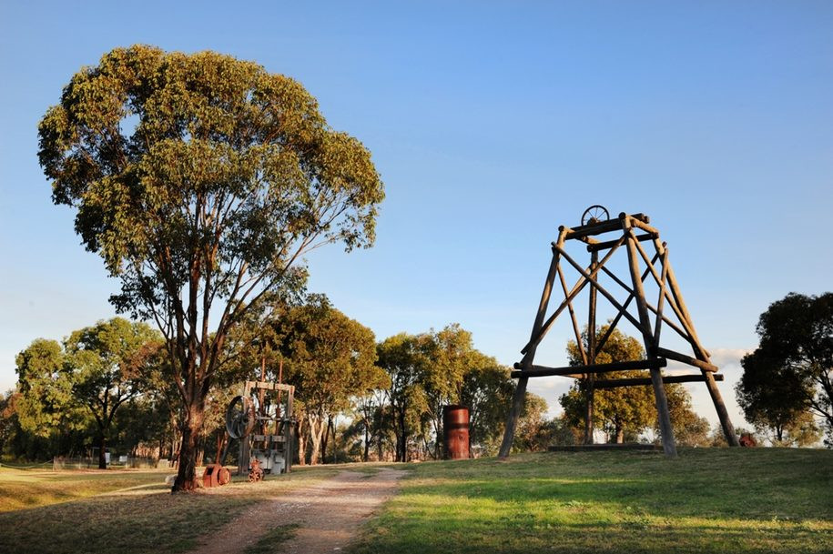 Try your hand at fossicking for gold in Mudgee and you'll potentially strike it rich