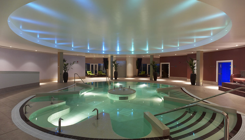 Rockliffe Hall's spa contains the UK's largest hydrotherapy pool