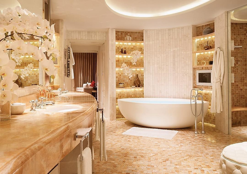 For the ultimate bathroom check into the Royal Penthouse London's Corinthia Hotel