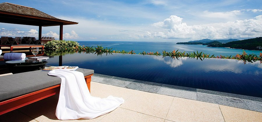 A suite at Andora Resort Villas in Phuket comes with private outdoor pool and shower