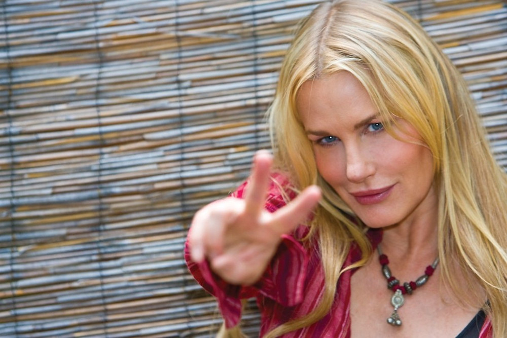 Actress, Daryl Hannah, is a big fan of Australia's NSW hinterland around Byron Bay