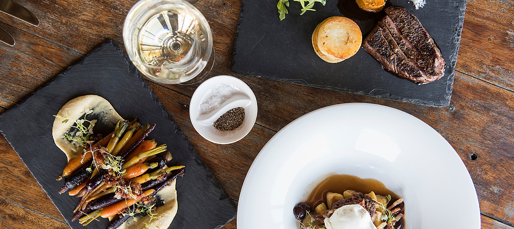 Feeling indulgent? Opt for the 10-course degustation at Pipeclay Pumphouse, Mudgee