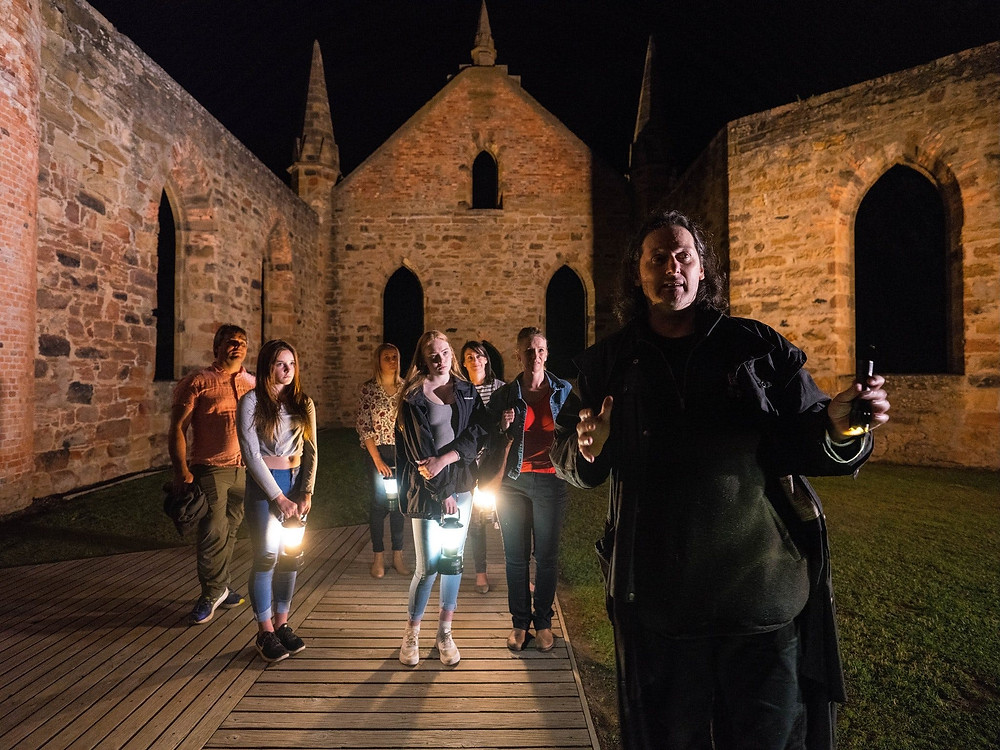 Tasmania's spooky Port Arthur saw more than 1,000 convict prisoners die