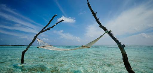 Maldives magic! Gili Lankanfushi's lagoon villa guests can enjoy overwater hammocks