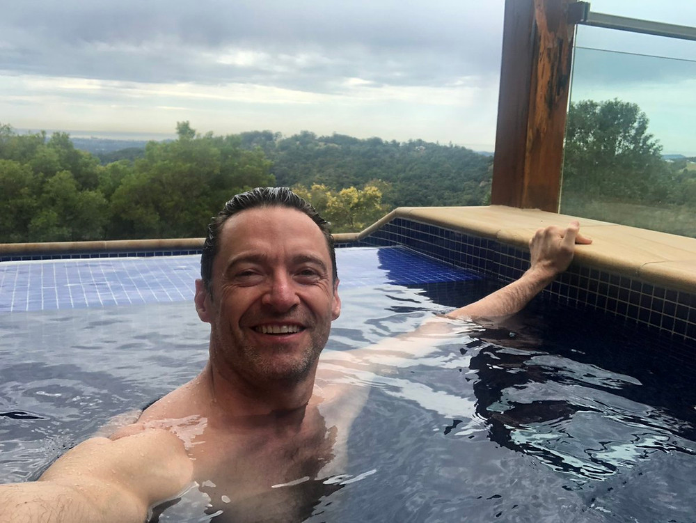 Hollywood star, Hugh Jackman, is a regular guest at Gwinganna Lifestyle Retreat