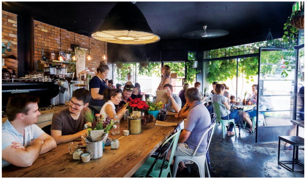 Brunch like a local at Laneway Speciality Coffee, Darwin