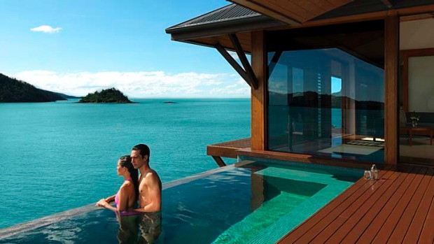 Laps of luxury! Qualia is Hamilton Island has hosted everyone from Oprah to Taylor Swift