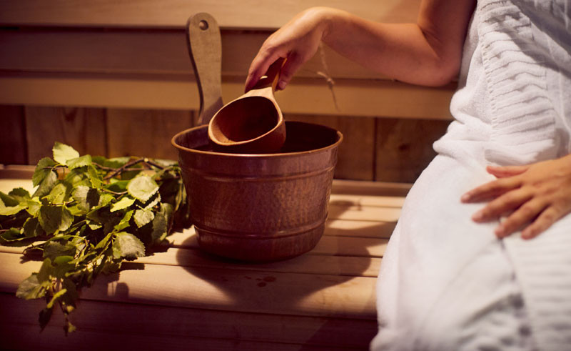 Swedes revere saunas for their stress-relieving and health-giving abilities