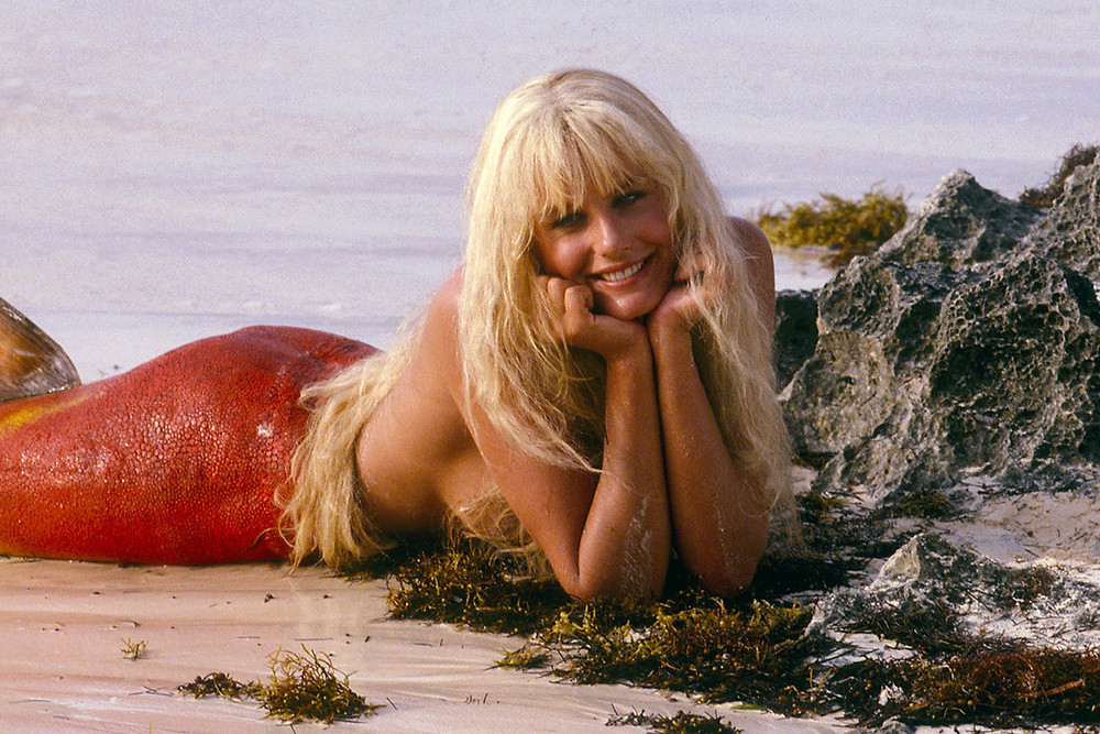 Hollywood movie star, Daryl Hannah (pictured here in Splash) is a longtime fan of Australia
