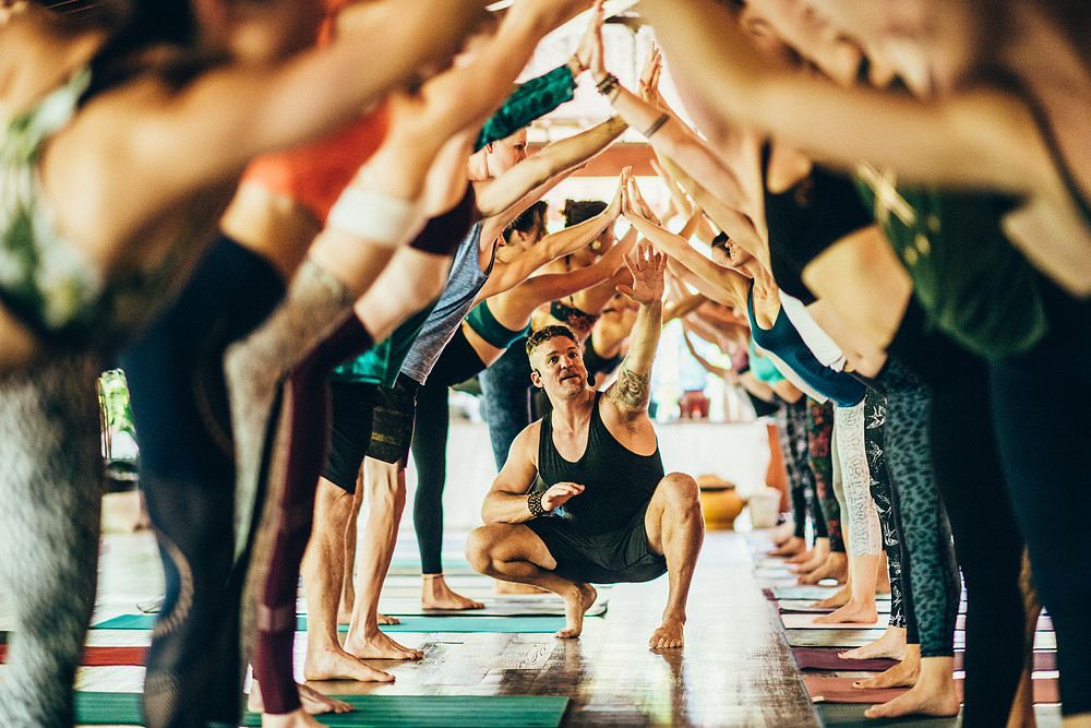 Connection: a yoga retreat holiday can lead to new likeminded friendships