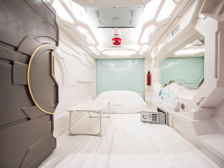 The Accommodation of The Future? Inside Australia's First Capsule Hotel