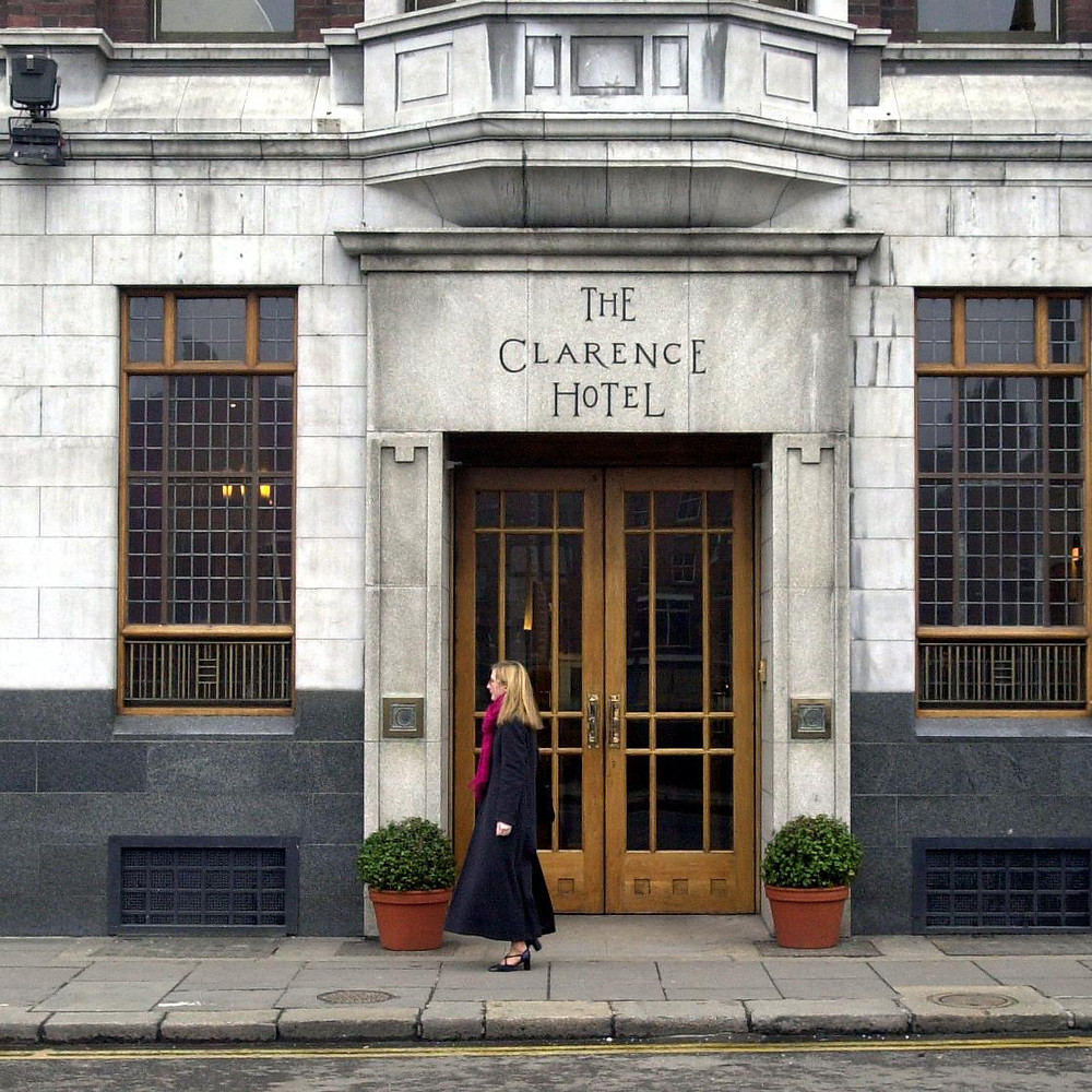 The Clarence Hotel in Dublin was purchased by Bono and other members of U2 in 1992