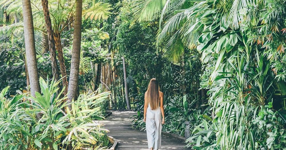Cyrstalbrook Byron resort is set on across 45-acres of magical rainforest