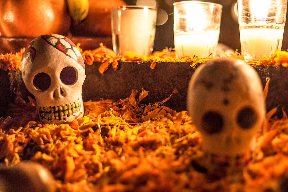 Day of the Dead may share calendar space with Halloween but skulls aside it's very different