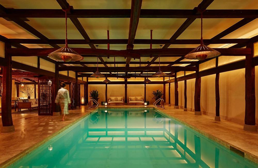 The amazing Japanese Shibui Spa in Robert De Niro's Greenwich Hotel, New York City