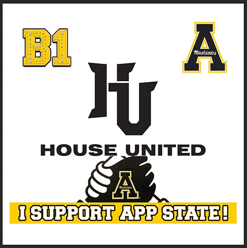 APP STATE Fundraiser Patch (5Pack)
