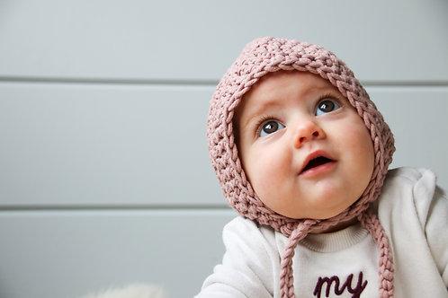 Muts 'bonnet' lila