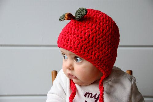 Muts 'bonnet' rood