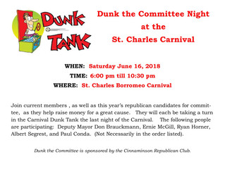 Dunk the Committee Night at the Carnival