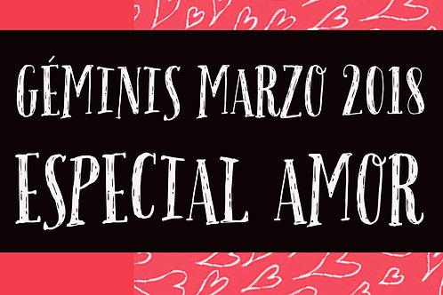Geminis Especial Amor Marzo 2018