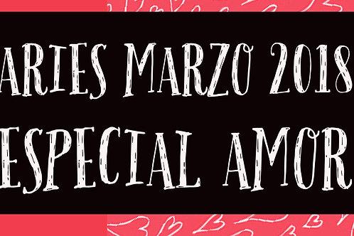 Aries Especial Amor Marzo 2018