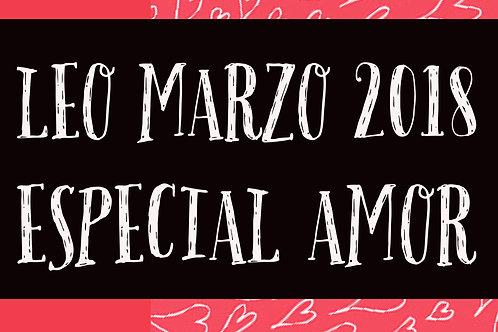 Leo Especial Amor Marzo 2018