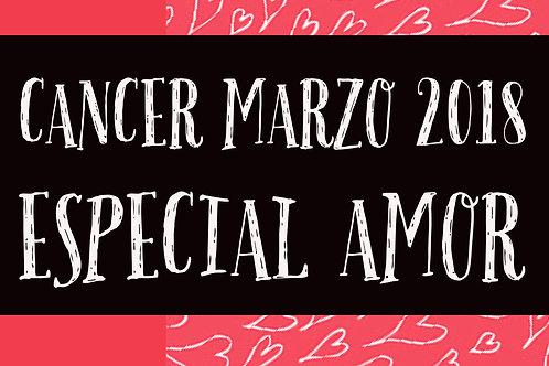 Cancer Especial Amor Marzo 2018