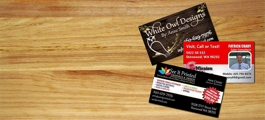 Custom Design Business Cards