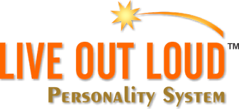 Live Out Loud Personality System Logo Or