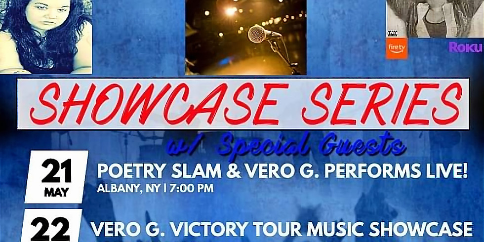 Poetry Slam & Vero G Performance
