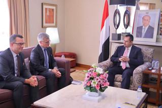 Yemeni Prime Minister meets Swedish Special Envoy to Yemen