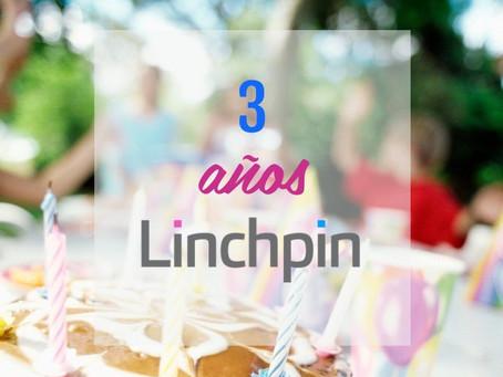 Linchpin. Y luego fueron tres...