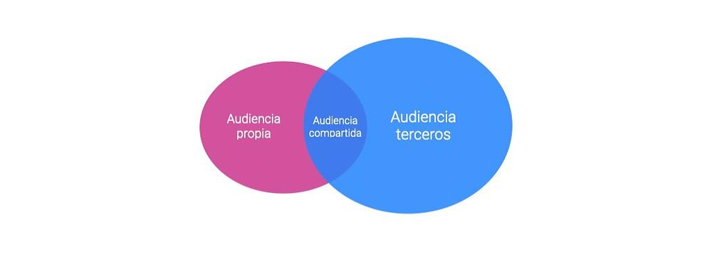 Linchpin | Buenos Aires | Argentina | Las audiencias propias tienen generalmente superposición con audiencias de terceros que podemos utilizar de manera pagada. Las llamaremos audiencias compartidas.