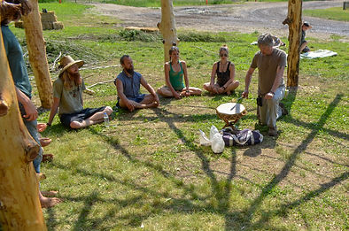 2016 Outdoor Classroom Blessing/ Native American song/ Ceremony