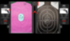 Target Comparison Close Ups