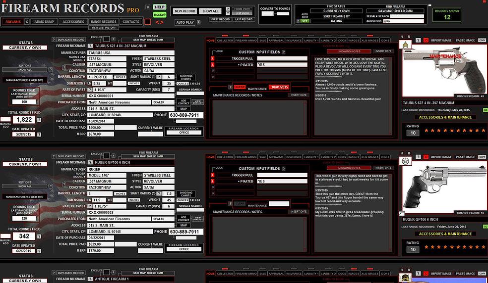 Firearms Full Screen